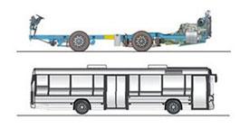 imagem chassi k ib 4x2 ônibus urbanos