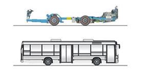 imagem chassi k ub 4x2 ônibus urbanos