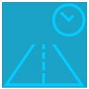 ícone mais tempo em operação driver services