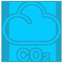 ícone menor nível de emissões driver services