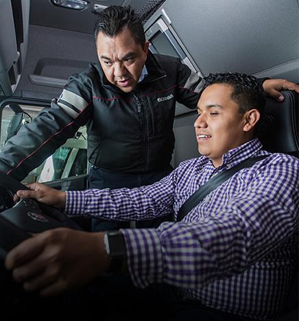 imagem scania driver services