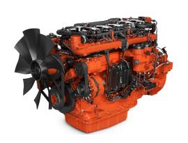 imagem de motor para aplicações industriais de 13 litros
