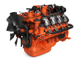 imagem de motor para aplicações industriais de 16 litros