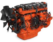 imagem motor gerador de energia a gás de 13 litros