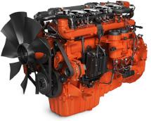 imagem motor gerador de energia a gás de 9 litros