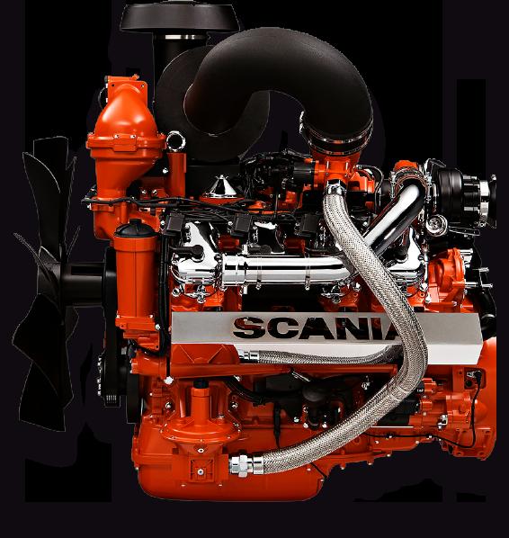imagem motor oc 16 v8 gás