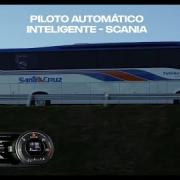 imagem de vídeo ônibus actcuise