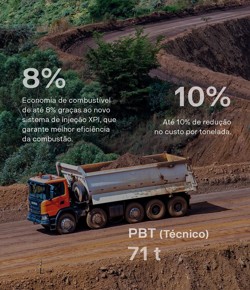 Imagem economia de combustível motor Heavy Tipper mobile
