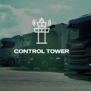 imagem de vídeo scania no detalhe control tower