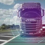 imagem de vídeo scania no detalhe controle de aceleração
