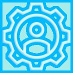 ícone mão de obra especializada