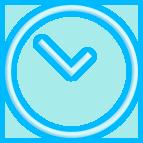 ícone otimização de tempo agendamento de serviços scania
